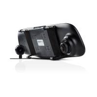 Видеорегистратор C3-351 Duo в зеркале + камера заднего вида Viper