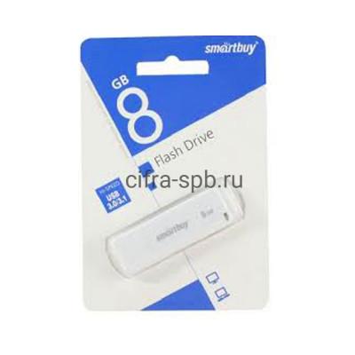 USB накопитель 8GB LM05 белый Smartbuy купить оптом | cifra-spb.ru