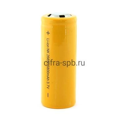 Аккумуляторная батарейка 26650 R20 6800mAh купить оптом   cifra-spb.ru