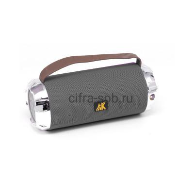 Беспроводная колонка AK116 + фонарь серый купить оптом | cifra-spb.ru