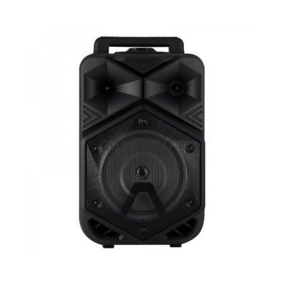 Беспроводная колонка BT-1778 + пульт + проводной микрофон черный купить оптом | cifra-spb.ru