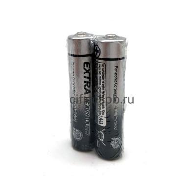 Батарейка R03 Panasonic AAA 2шт. (цена за ед.) купить оптом | cifra-spb.ru