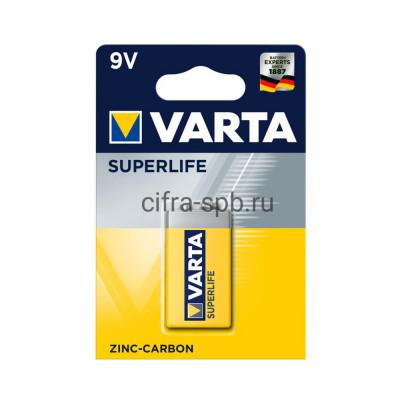 Батарейки крона 6F22 Varta 1шт купить оптом | cifra-spb.ru
