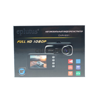 Автомобильный видеорегистратор DVR-931 Eplutus купить оптом | cifra-spb.ru