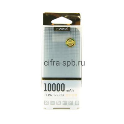 Power Bank 10000mAh 2USB черный Proda купить оптом | cifra-spb.ru