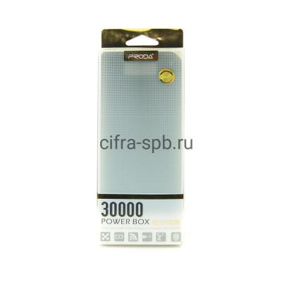Power Bank 30000mAh 2USB черный Proda купить оптом | cifra-spb.ru