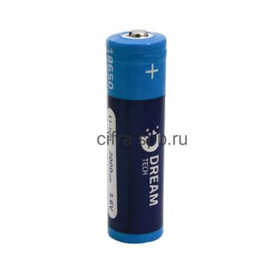 Аккумулятор DRM-18650-B 168A с защитой 2000 mAh Dream (техпак) купить оптом | cifra-spb.ru