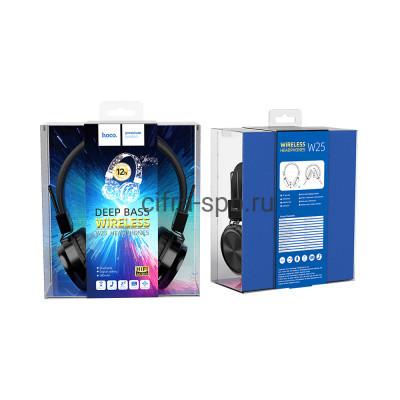 Беспроводные наушники W25 полноразмерные с микрофоном черный Hoco купить оптом | cifra-spb.ru