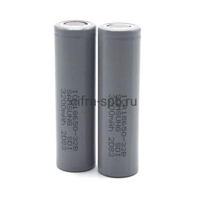Аккумулятор 18650/R25 3200 mAh Sam 2шт купить оптом   cifra-spb.ru