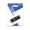 USB накопитель 8GB Glossy черный Smartbuy