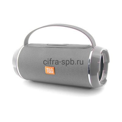 Беспроводная колонка TG-116C с ручкой серый T&G купить оптом | cifra-spb.ru