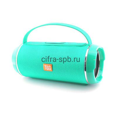 Беспроводная колонка TG-116C с ручкой бирюзовый T&G купить оптом | cifra-spb.ru