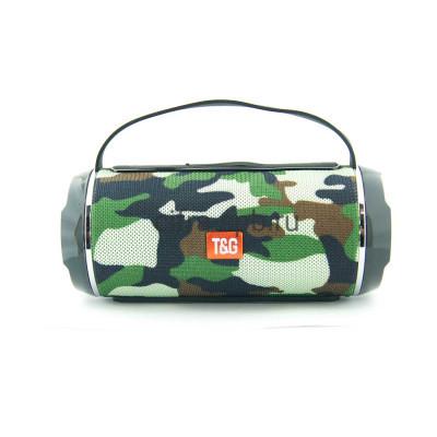 Беспроводная колонка TG-116C с ручкой камуфляж T&G купить оптом | cifra-spb.ru