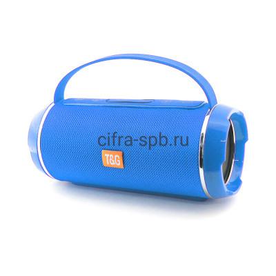 Беспроводная колонка TG-116C с ручкой синий T&G купить оптом | cifra-spb.ru