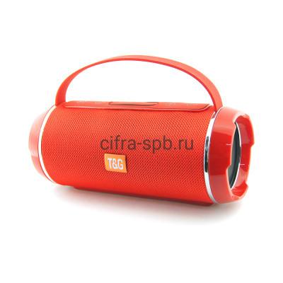 Беспроводная колонка TG-116C с ручкой красный T&G купить оптом | cifra-spb.ru