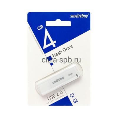 USB накопитель 4GB LM05 белый Smartbuy купить оптом | cifra-spb.ru