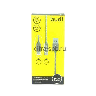 Кабель Lightning-Micro 2в1 M8J175 2А серебро BUDI 1m купить оптом | cifra-spb.ru