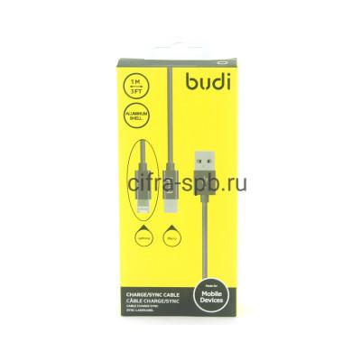 Кабель Lightning-Micro 2в1 M8J175 2А черный BUDI 1m купить оптом   cifra-spb.ru