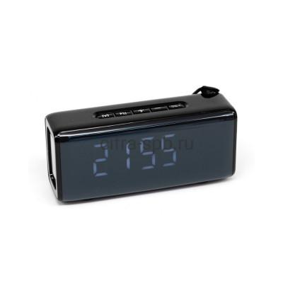 Беспроводная колонка TG-174 черный + часы T&G купить оптом | cifra-spb.ru