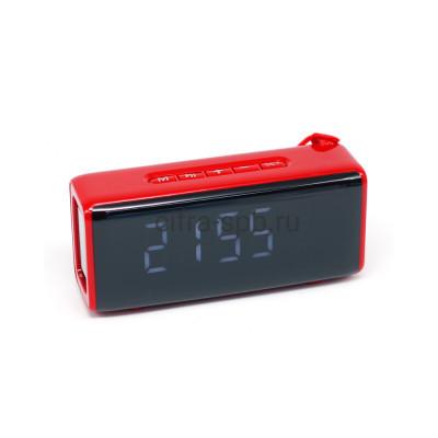 Беспроводная колонка TG-174 красный + часы T&G купить оптом | cifra-spb.ru