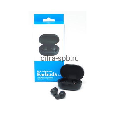 Беспроводные наушники Earbuds c микрофоном черный купить оптом | cifra-spb.ru