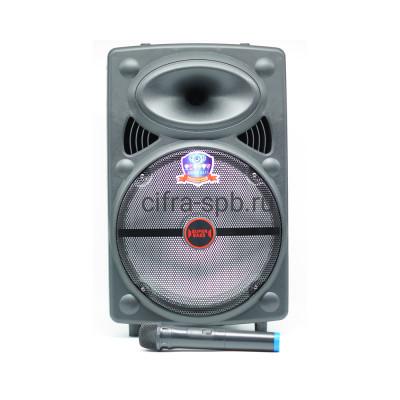 Беспроводная колонка LT-1203 + беспроводной микрофон и пульт ML-1820 купить оптом | cifra-spb.ru