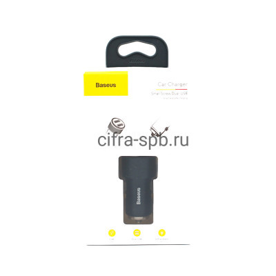 АЗУ 2USB CAXLD-C01 QC3.0 черный Baseus купить оптом | cifra-spb.ru