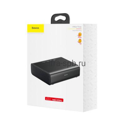 Автомобильный компрессор CRCQB01-01 черный Baseus купить оптом | cifra-spb.ru