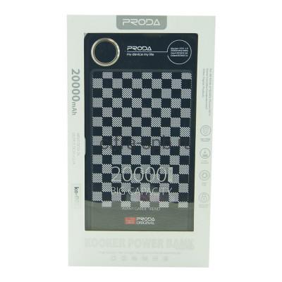Power Bank 20000mAh PPP-19 KO-001 Proda купить оптом | cifra-spb.ru