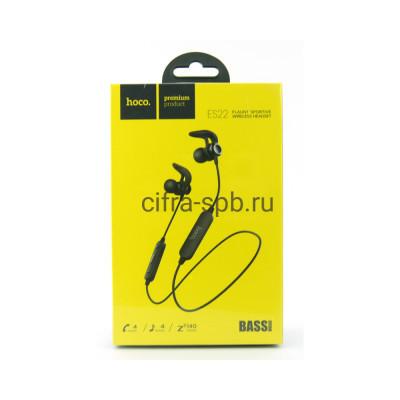 Беспроводные наушники ES22 с микрофоном черный Hoco купить оптом | cifra-spb.ru