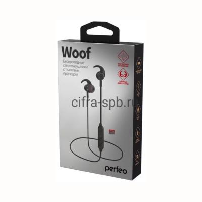 Беспроводные наушники WOOF (PF_A4904) с микрофоном черный Perfeo купить оптом | cifra-spb.ru