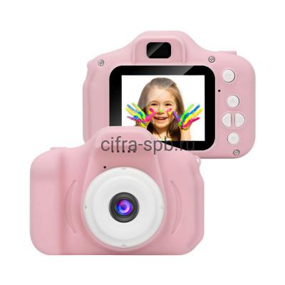 Детский фотоаппарат D600 розовый купить оптом | cifra-spb.ru