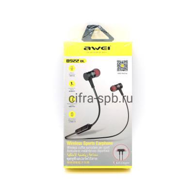 Беспроводные наушники B922BL с микрофоном черный Awei купить оптом   cifra-spb.ru