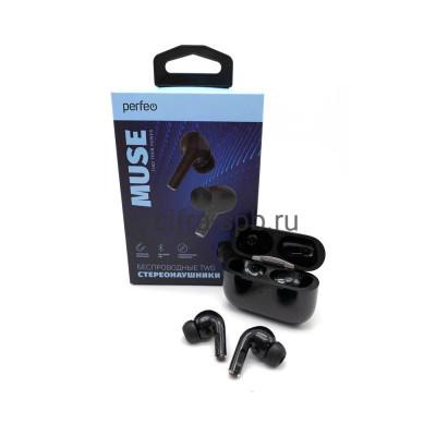 Беспроводные наушники MUSE (PF_B4027) с микрофоном черный Perfeo купить оптом | cifra-spb.ru