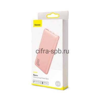 Power Bank 10000mAh 18W QS3.0A PPDML-04 розовый Baseus купить оптом | cifra-spb.ru