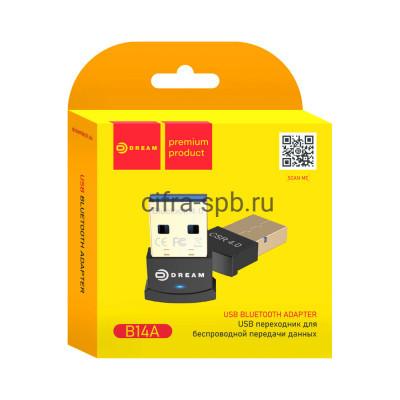 Адаптер Bluetooth B14A0 (BT4.0 3Mbit/S) черный Dream купить оптом | cifra-spb.ru