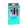 Беспроводные наушники LIGHT (PF_A4310) с микрофоном черный Perfeo