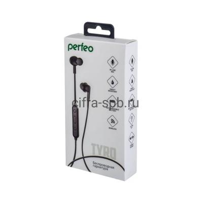 Беспроводные наушники TYRO (PF_A4298) с микрофоном черный Perfeo купить оптом   cifra-spb.ru