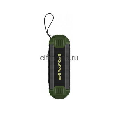 Беспроводная колонка Y280 зеленый Awei купить оптом | cifra-spb.ru