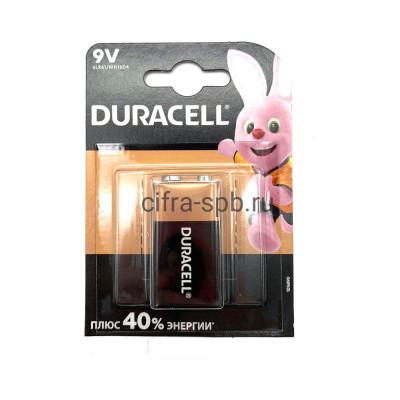 Батарейка крона 6LR61 Duracell 1шт. купить оптом | cifra-spb.ru