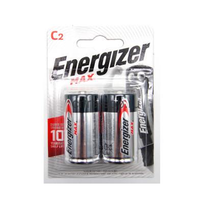 Батарейка LR14 Max Energizer 2шт. (цена за ед.) купить оптом | cifra-spb.ru