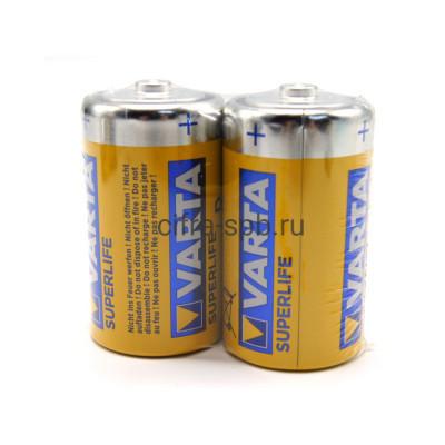 Батарейка R20 SUPERLIFE Varta 2шт. (цена за ед.) купить оптом   cifra-spb.ru