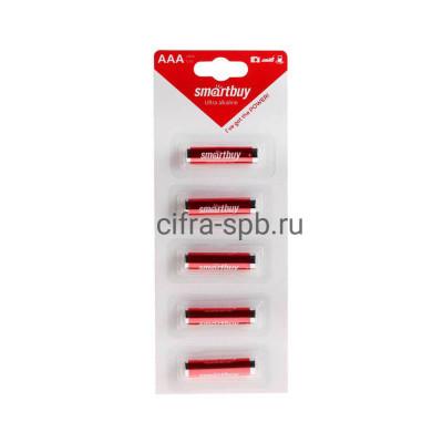 Батарейка LR03 Strip лента Smartbuy 5шт (цена за ед.) купить оптом | cifra-spb.ru
