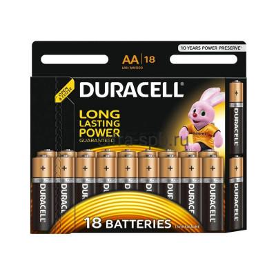 Батарейка AA LR6 Duracell 18шт. (цена за ед.) купить оптом | cifra-spb.ru