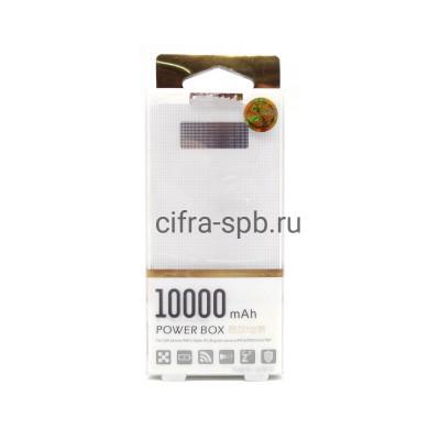 Power Bank 10000mAh 2USB белый PRD купить оптом | cifra-spb.ru