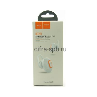 Беспроводная гарнитура E28 белый Hoco купить оптом | cifra-spb.ru