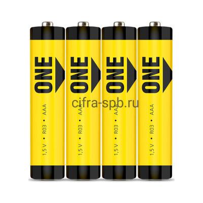 Батарейка R03 ONE Smartbuy 4шт (цена за ед.) купить оптом | cifra-spb.ru