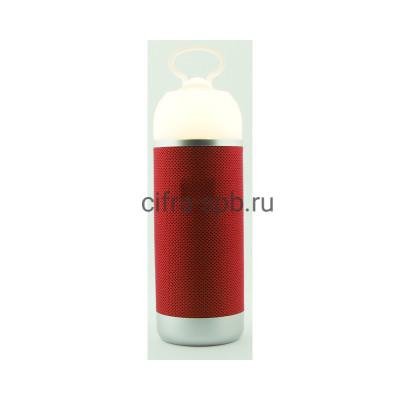 Беспроводная колонка  AE01 + фонарь красный купить оптом | cifra-spb.ru