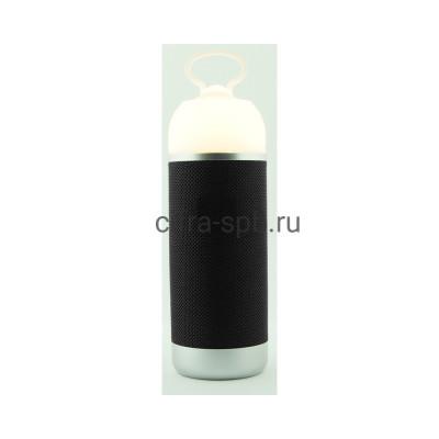 Беспроводная колонка  AE01 + фонарь черный купить оптом | cifra-spb.ru