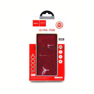 Power Bank 10000mAh J68 USB Input PD/Micro красный Hoco купить оптом | cifra-spb.ru